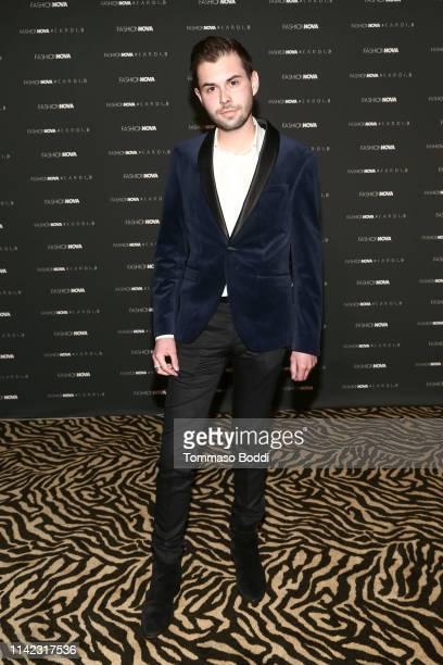 J Dalton Croft arrives as Fashion Nova Presents Party With Cardi at Hollywood Palladium on May 8 2019 in Los Angeles California