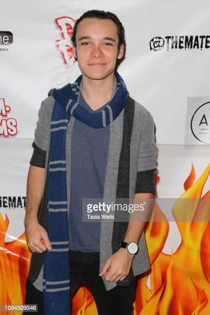 Dalton Cyr attends Mateo Simon's Annual Charity Halloween Event on October 27 2018 in Burbank California
