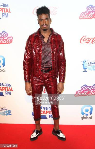 Dalton Harris at the Capital Jingle Bell Ball with CocaCola on Day one at The O2 in Peninsula Square
