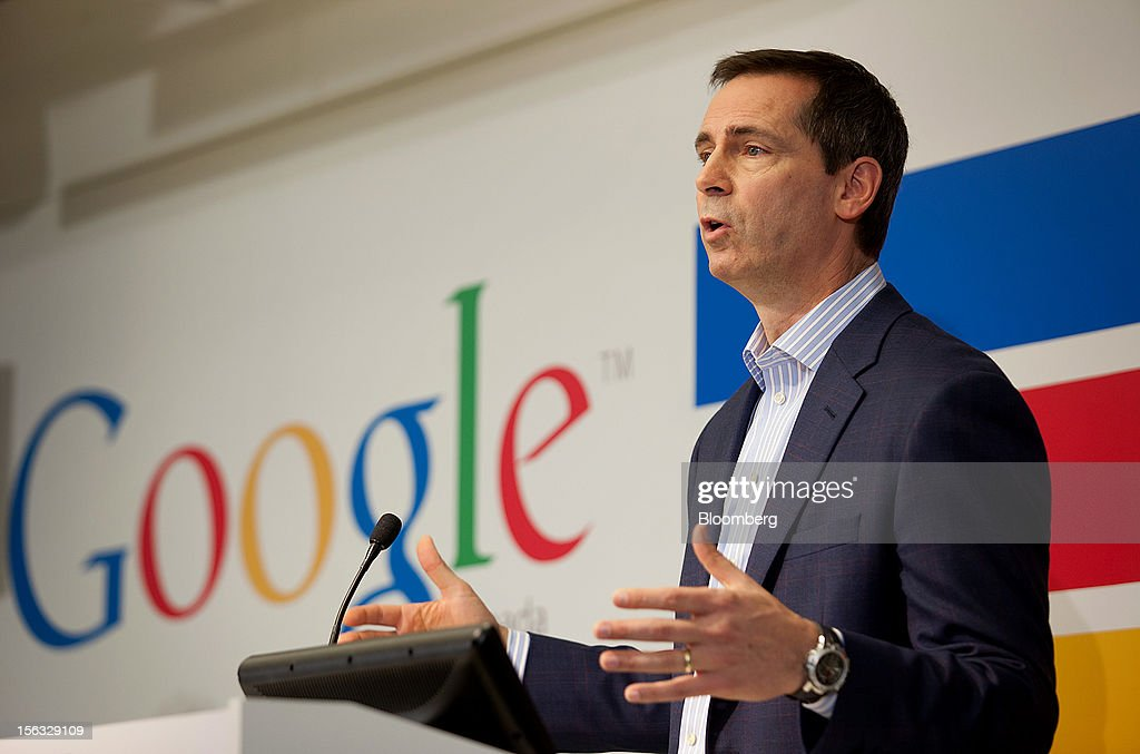Dalton McGuinty, Ontario's premier, speaks to the press during a media tour for the grand opening of Google Inc.'s new office in Toronto, Ontario, Canada, on Tuesday, Nov. 13, 2012. The office space encompasses five color-coded floors and features amenities such as a pool table, video games, mini-golf putting greens and a camping lounge where employees can hold meetings in a tent. Photographer: Brett Gunlock/Bloomberg via Getty Images
