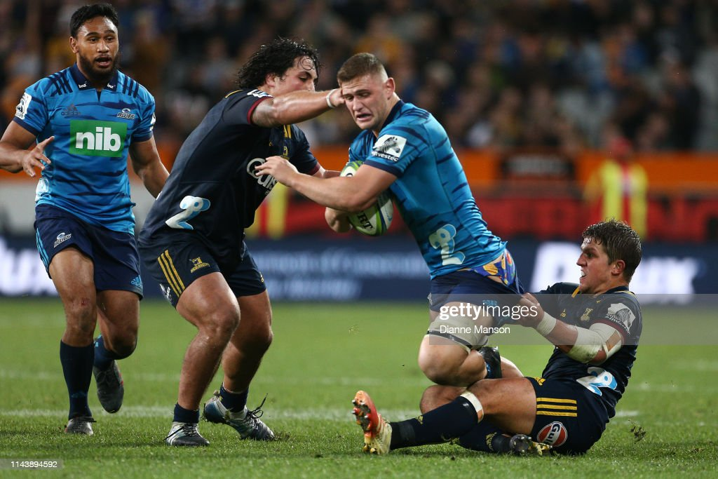 Super Rugby Rd 10 - Highlanders v Blues : News Photo