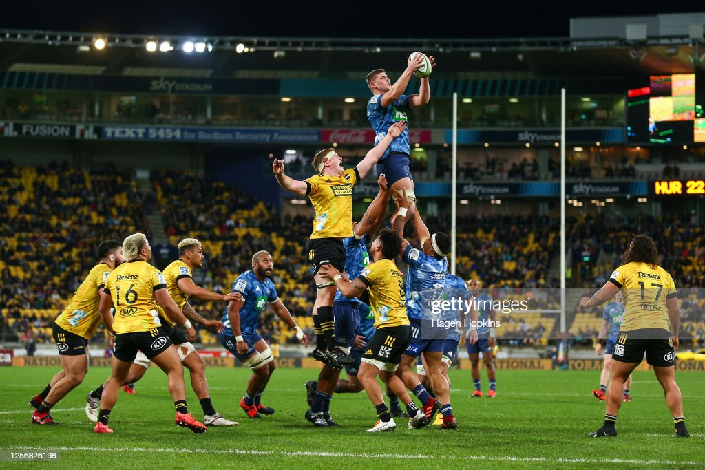 Super Rugby Aotearoa Rd 6 - Hurricanes v Blues : News Photo