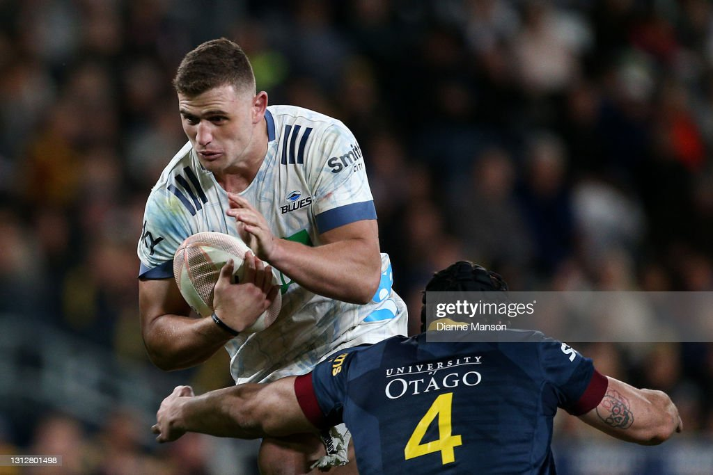 Super Rugby Aotearoa Rd 8 - Highlanders v Blues : Photo d'actualité