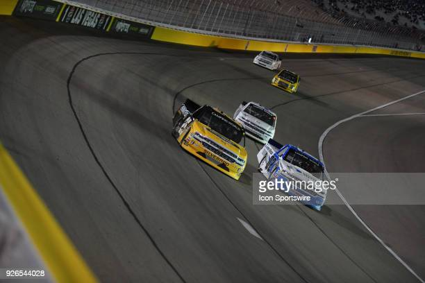 Dalton Sargeant GMS Racing Chevrolet Silverado during the Stratosphere 200 NASCAR Camping World Truck Series race on March 2018 at Las Vegas Motor...