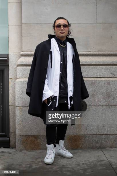9f99a60b714 Dalton Taylor is seen attending Engineered For Motion wearing Theory  Florencio shoes and Cazal sunglasses on