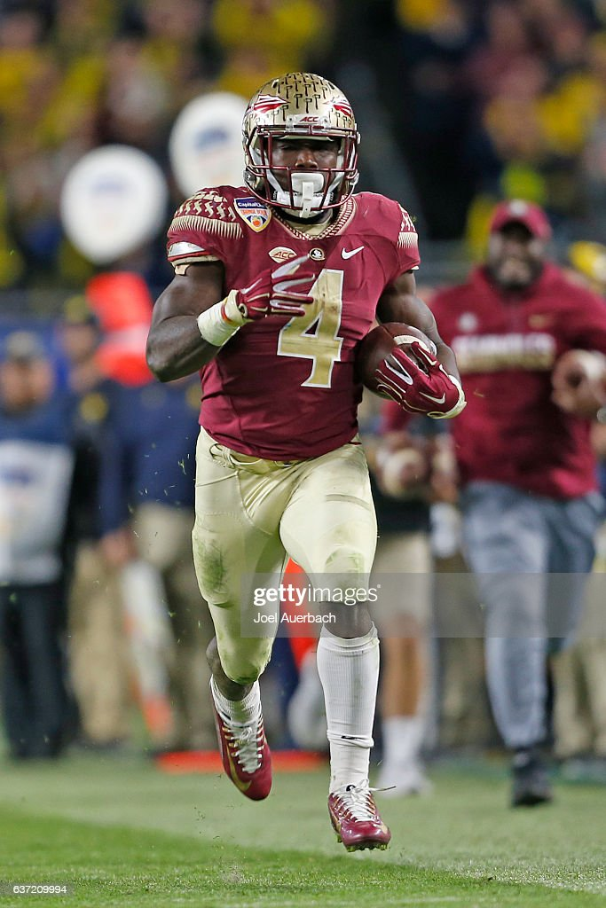 Capital One Orange Bowl - Florida State v Michigan : News Photo
