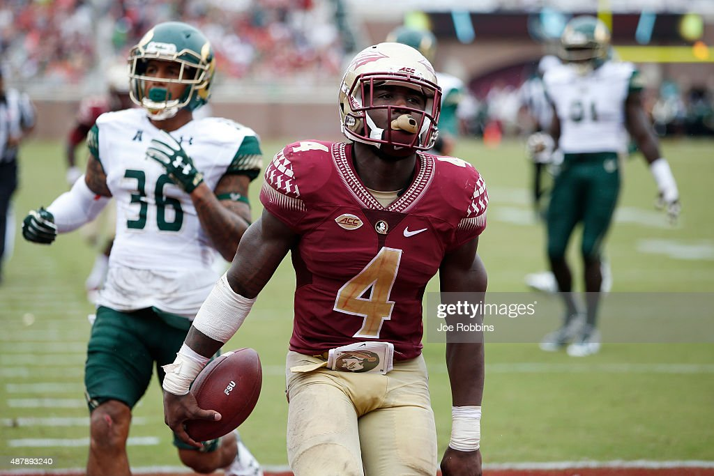 South Florida v Florida State : News Photo