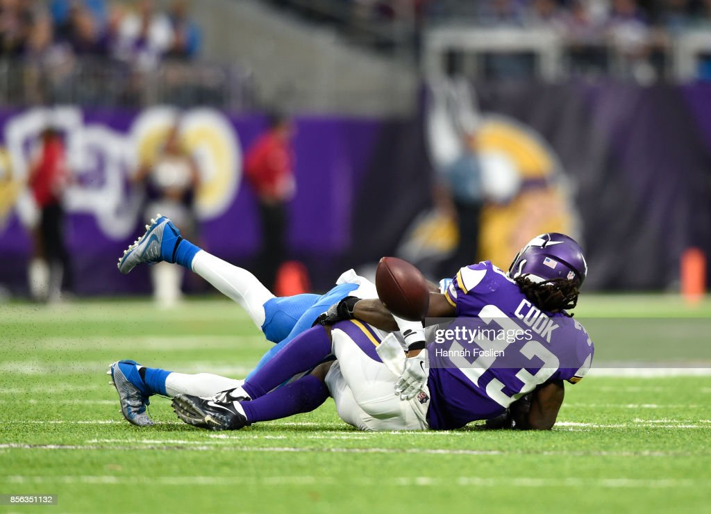 Detroit Lions v Minnesota Vikings : News Photo