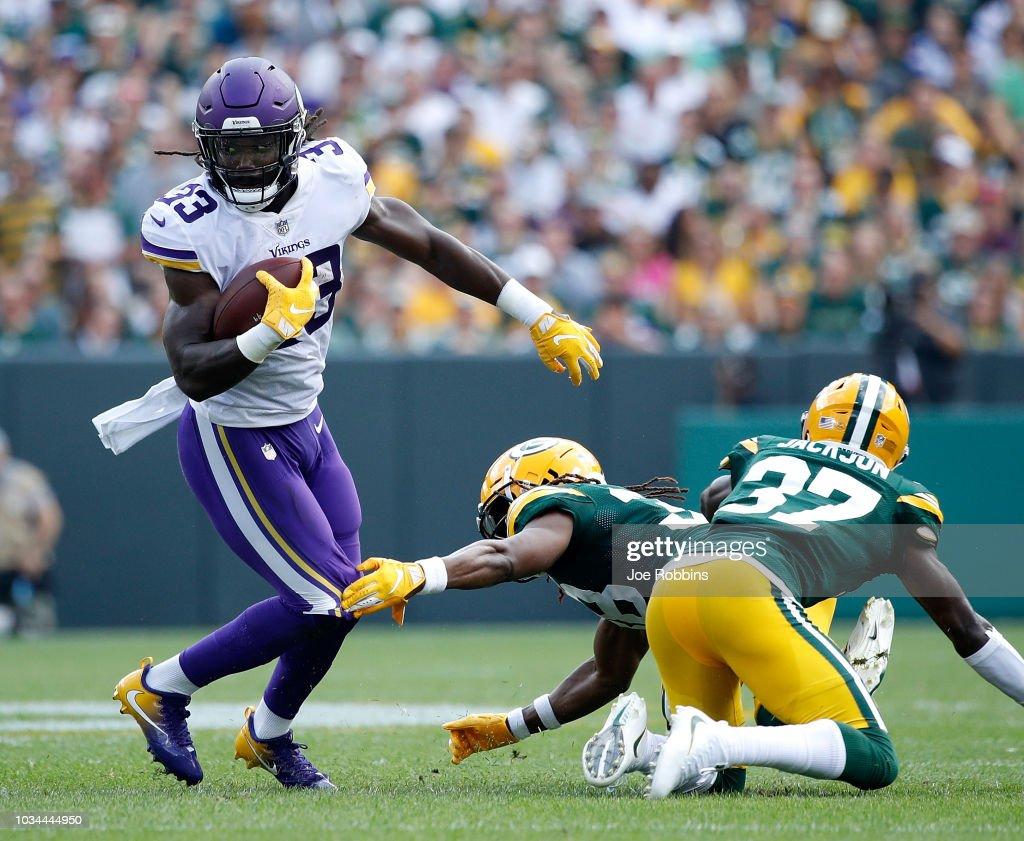 Minnesota Vikings v Green Bay Packers : News Photo
