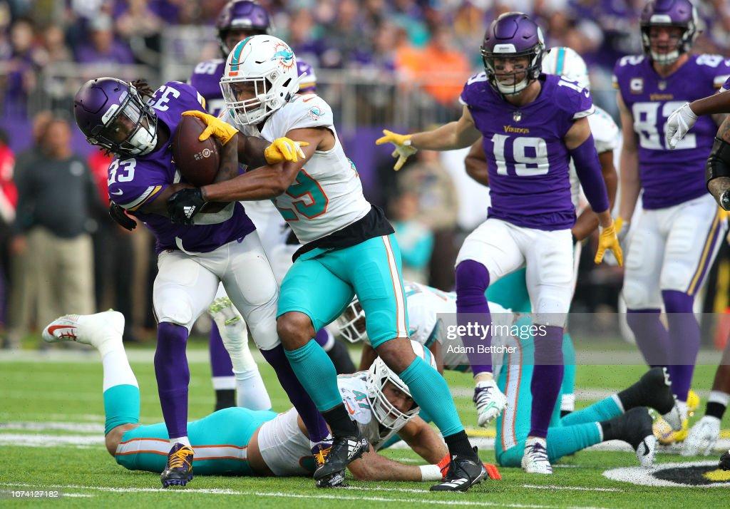 Miami Dolphins v Minnesota Vikings : News Photo
