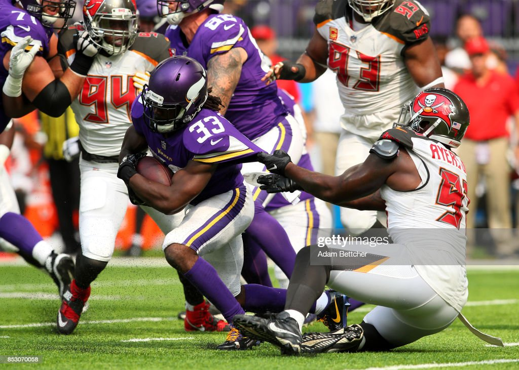 Tampa Bay Buccaneers v Minnesota Vikings : ニュース写真