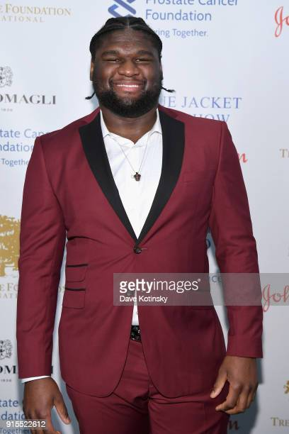 Dalvin Tomlinson attends the Blue Jacket Fashion Show to benefit the Prostate Cancer Foundation on February 7 2018 in New York City