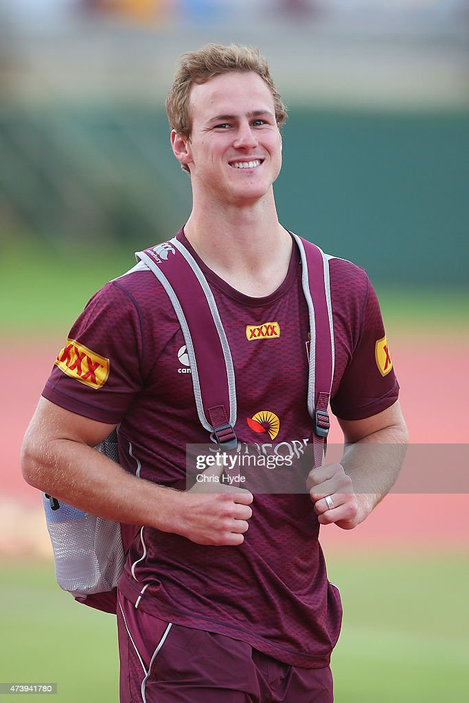Queensland Maroons Media & Training Session