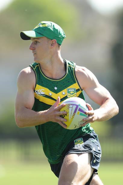 AUS: Australia Rugby League 9s Training Session