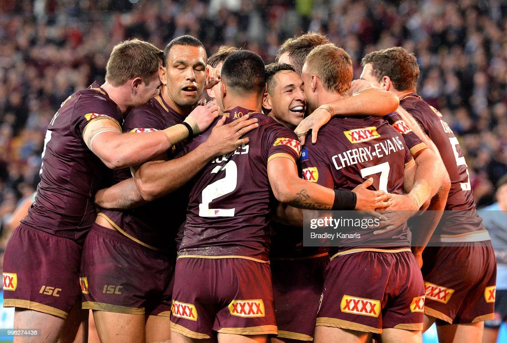 State Of Origin III - QLD v NSW : Foto di attualità