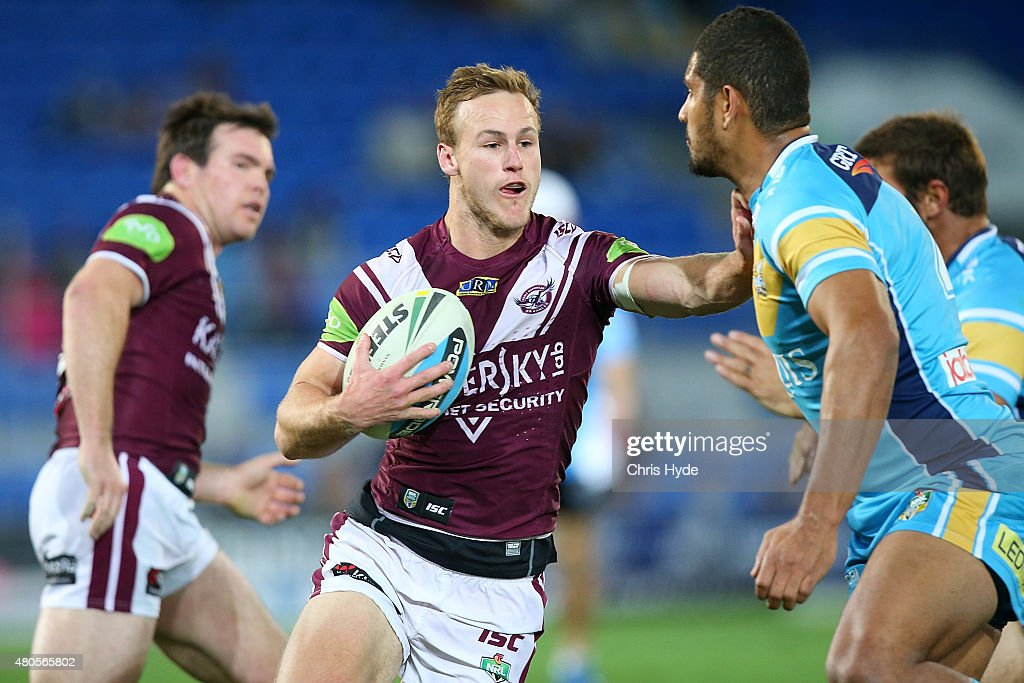 NRL Rd 18 - Titans v Sea Eagles