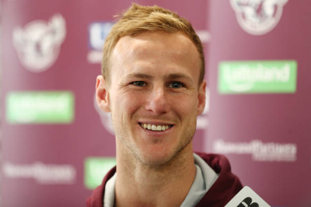 AUS: Manly Sea Eagles Media Opportunity & Training Session