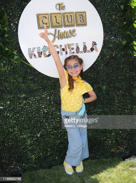 Daly Hernandez arrives for Clubhouse Kidchella held at Pershing Square on April 6 2019 in Los Angeles California