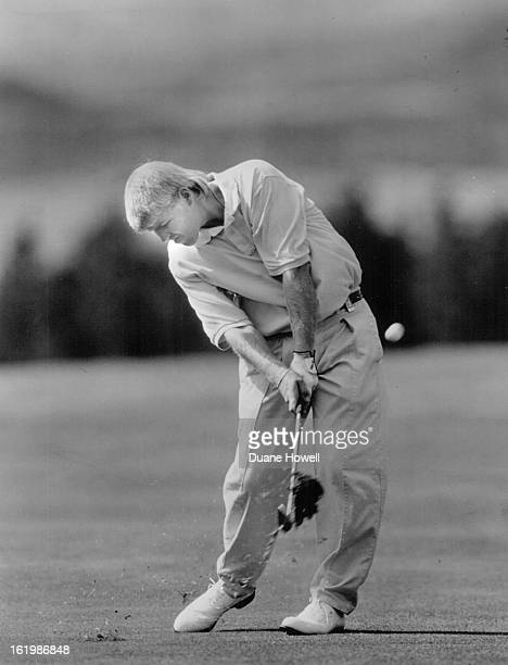 AUG 16 1991 Daly John Golfer John Daly on 18