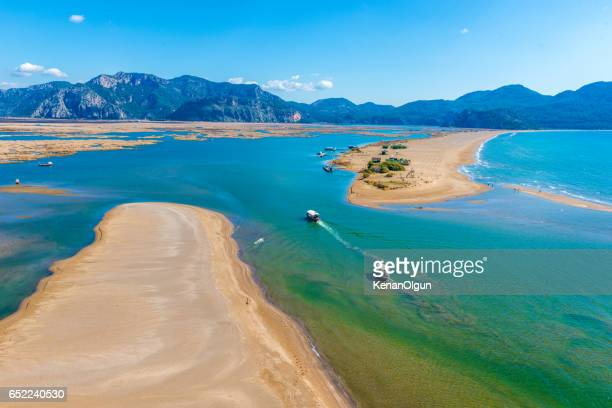 dalyan - mugla province stock pictures, royalty-free photos & images
