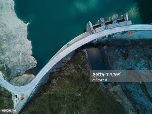 dam - hydroelectric power station stock photos and pictures
