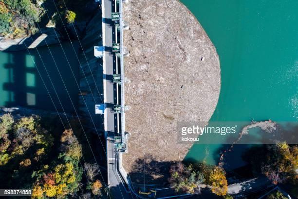 barragem. - reservatório - fotografias e filmes do acervo