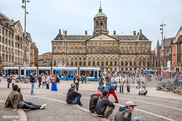 Dam Square with Royal Palace