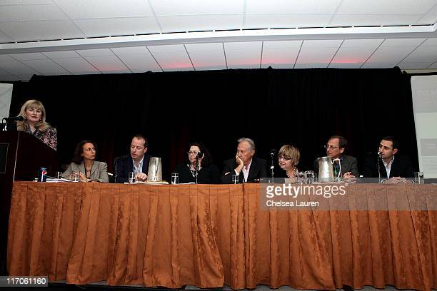 Dama Claire of The Incentives Office Amy Lemisch of the California Film Commission Andrew Lowe of Element Pictures Louise O'BrienMoran of Manitoba...