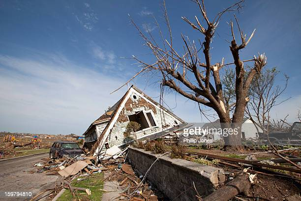 Damage from the F5 tornado that hit Joplin, MO on May 22, 2011.