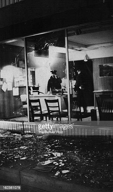 FEB 1971 MAR 8 1971 Damage To Office At North Denver Action Center Confined To Glass Little damage was noted to interior from explosive device...