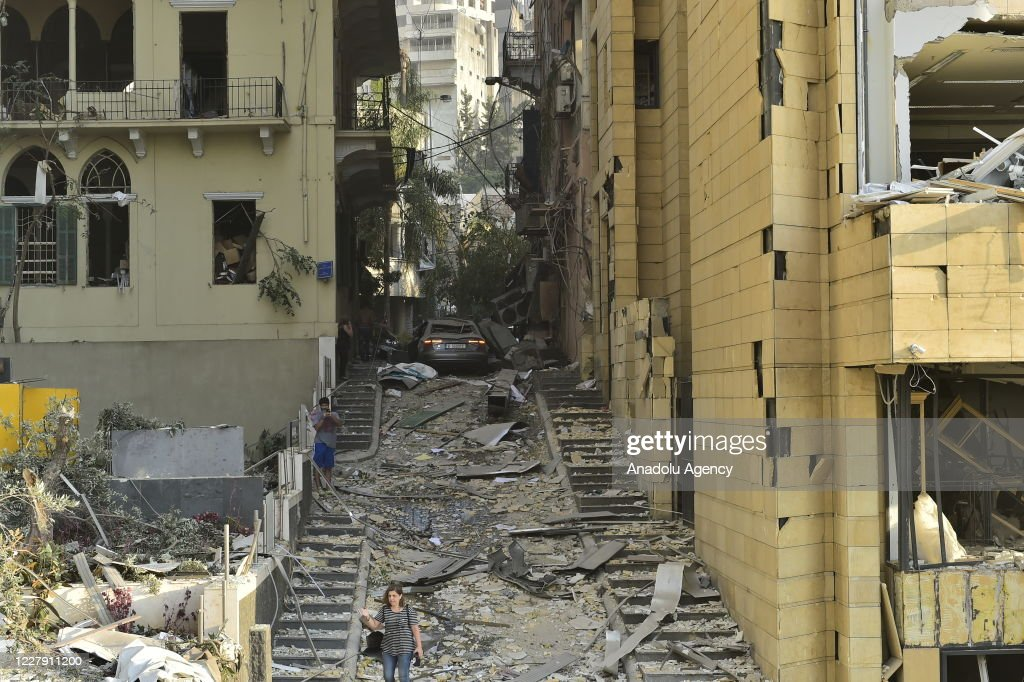 Massive explosion in Beirut : News Photo