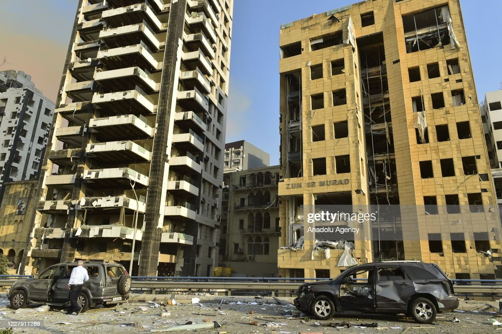 Massive explosions in Beirut, Lebanon : News Photo