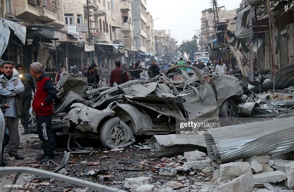 Syrian Civil War : ニュース写真