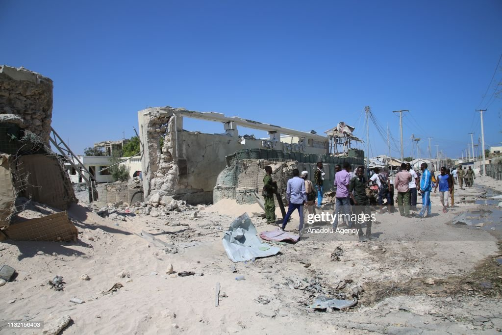 Bomb-laden vehicle attack in Somalia : News Photo
