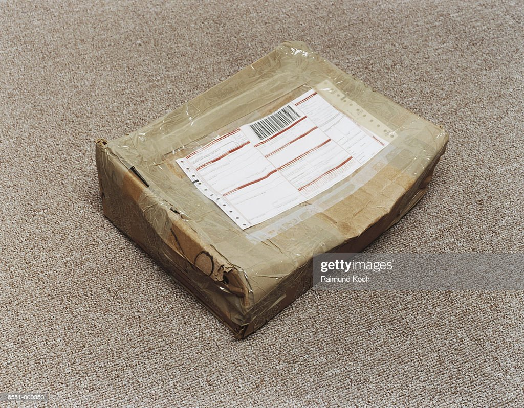 Damaged Package : Stock Photo