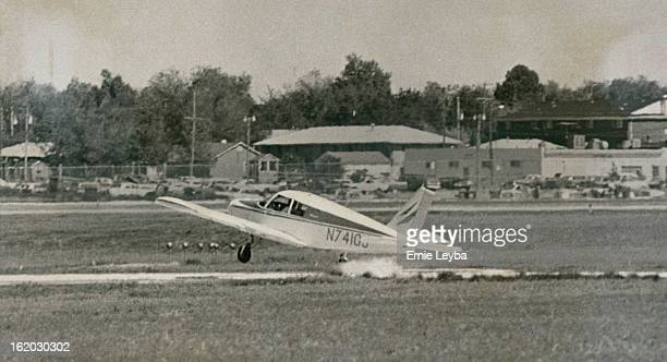 MAY 26 1975 MAY 27 1975 Damaged Plane CrashLanded safely A Piper Cherokee 140 piloted by Pat McHugh Aberdeen SD hits foamcovered eastwest runway...