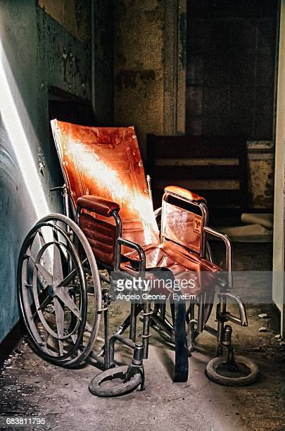 Damaged Wheelchair At Store Room