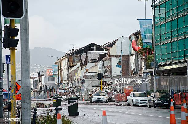 CONTENT] Damages and Rebuilding since February Earthquake in 2011