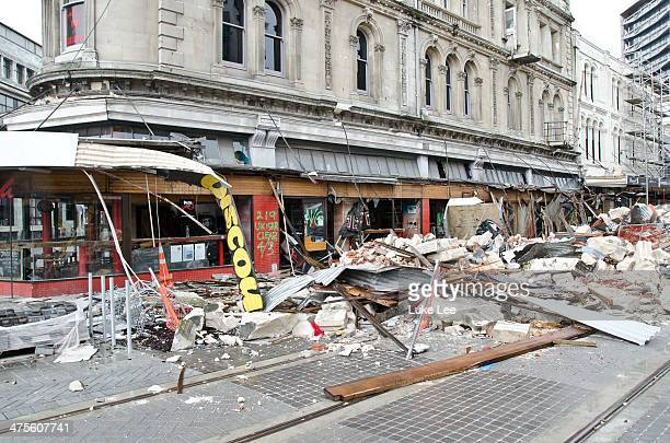 Damages and Re-building since February Earthquake in 2011