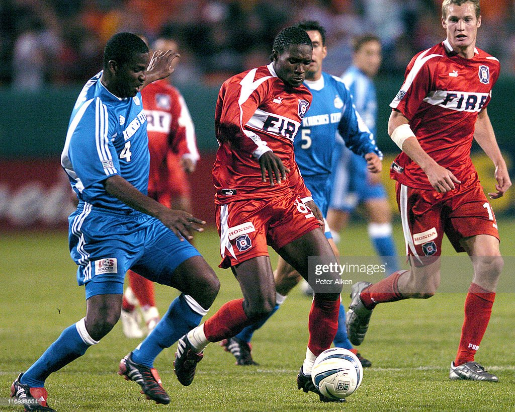 MLS - Opening Day - Chicago Fire vs Kansas City Wizards - April 3, 2004