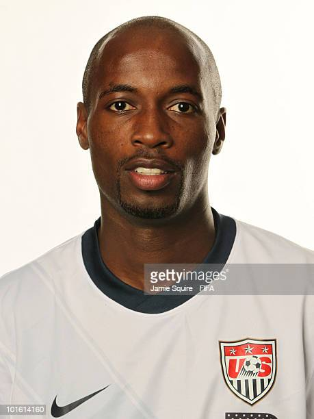DaMarcus Beasley of USA poses during the official FIFA World Cup 2010 portrait session on June 3, 2010 in Centurion, South Africa.