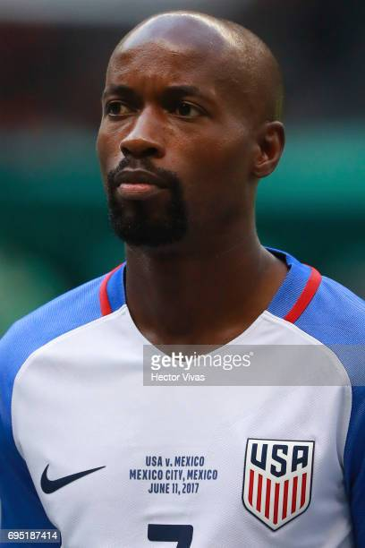 Damarcus Beasly of United States during the match between Mexico and The United States as part of the FIFA 2018 World Cup Qualifiers at Azteca...