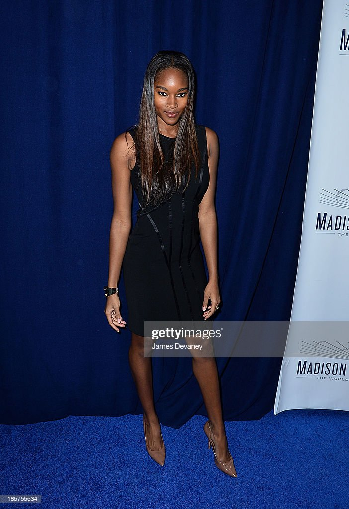 Damaris Lewis attends Madison Square Garden transformation unveiling at Madison Square Garden on October 24, 2013 in New York City.