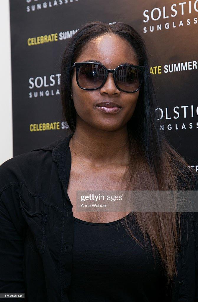 Solstice Sunglasses Annual Summer Soiree In Flatiron, NYC : News Photo