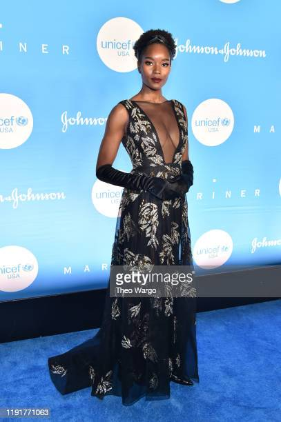Damaris Lewis attends the 15th Annual UNICEF Snowflake Ball at Cipriani Wall Street on December 03 2019 in New York City
