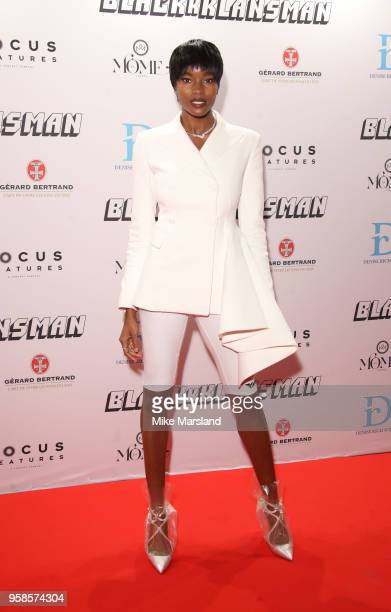 Damaris Lewis attends the BlacKkKlansman After Party during the 71st annual Cannes Film Festival at on May 14 2018 in Cannes France