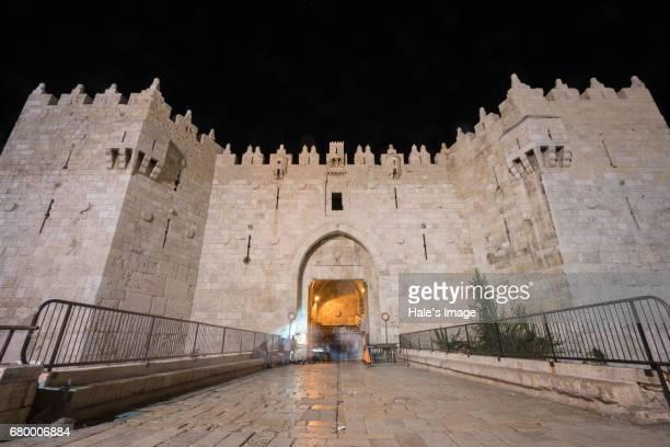 Damascus Gate in Jerusalem, Israel