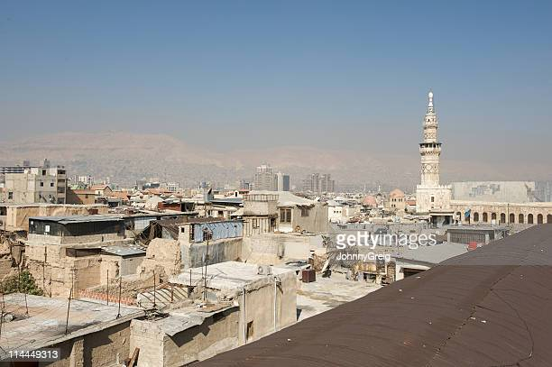 Damascus rooftop view