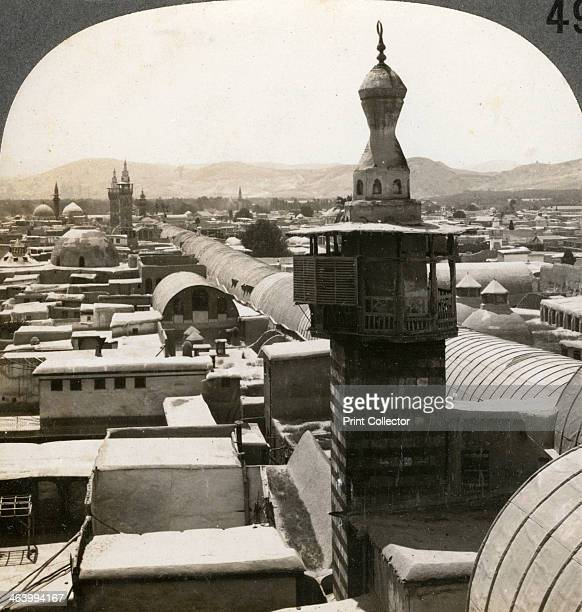 Damascus Syria 1900s Stereoscopic slide