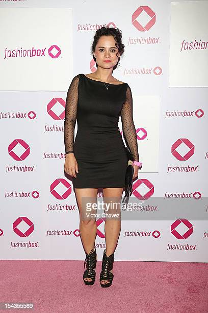 Damayanti Quintanar attends the launch of Fashionbox at MoonBar Hotel Camino Real Polanco on October 17 2012 in Mexico City Mexico